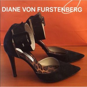 ⭐️DIANE VON FURSTENBERG HEELS 💯AUTHENTIC